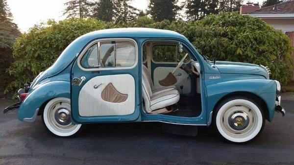 1959 RENAULT 4CV Vintage Fun French Mini-Microcar RARE  For Sale (picture 1 of 6)