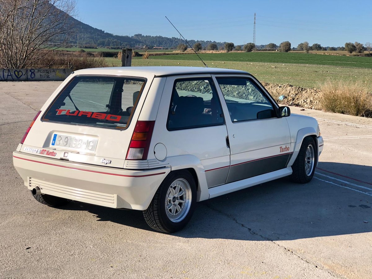 1987 Renault 5 GT Turbo - Rebuilt engine 1000 KM - 3 owners For Sale (picture 2 of 4)