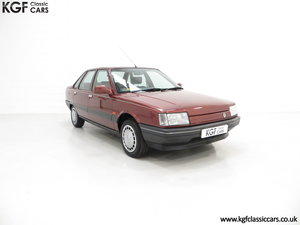 1988 An Ex Renault UK Renault 21 GTS Symphony with 16,027 miles.