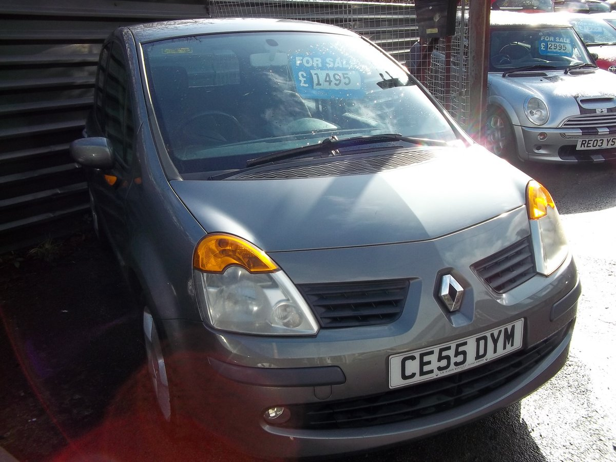 2005 Renault Modus 1.4 Maxim For Sale (picture 4 of 4)