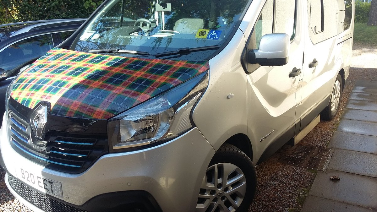 2016 Low Mileage 4 Berth Camper with Wheelchair Lift For Sale (picture 2 of 6)