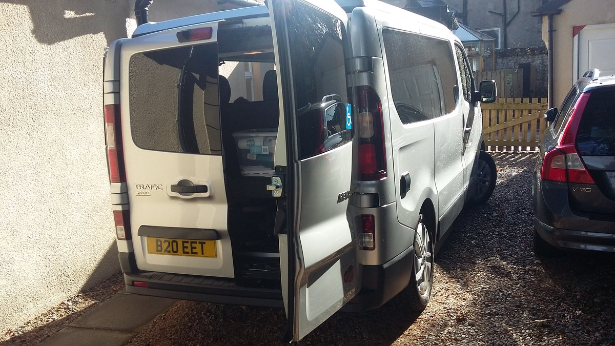 2016 Low Mileage 4 Berth Camper with Wheelchair Lift For Sale (picture 4 of 6)