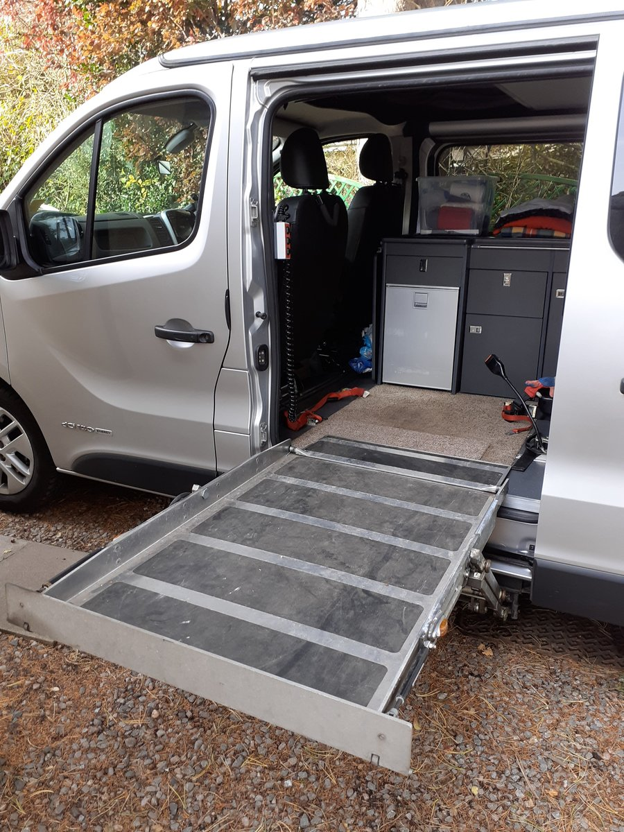 2016 Low Mileage 4 Berth Camper with Wheelchair Lift For Sale (picture 6 of 6)