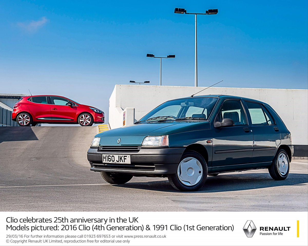 1991 Renault Clio EX-Renault UK For Sale (picture 1 of 6)
