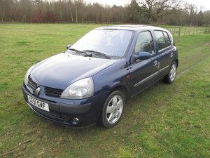 2001 Renault Clio 1.4 Privilege 5 Door Auto Automatic