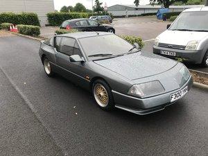 1989 Renault alpine v6 i owner low milage