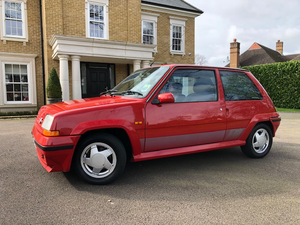 1988 Renault 5 GT Turbo - 87,658 miles Just 12,000 - 15,000