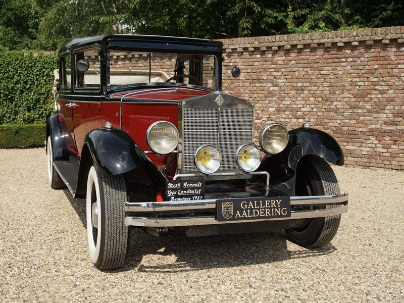 1931 Renault KZ Landaulette unique six seater, Pre-War For Sale (picture 5 of 6)