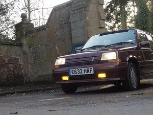 1987 Renault 5 gtx manual metalic red 5 door