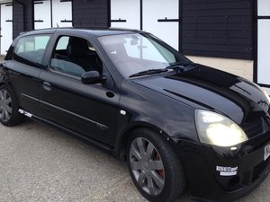 Renault Clio 182 Cup 2005 / Project Car