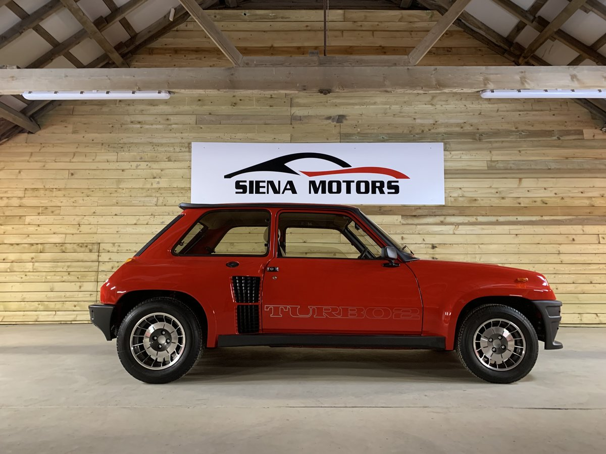 1895 RENAULT 5 TURBO 2    NOW SOLD  For Sale (picture 1 of 6)