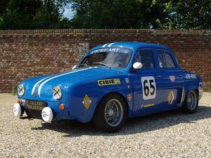 Renault Dauphine 'Gordini' specs 5-speed, completely revised