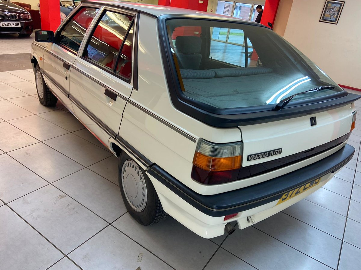 1988 RENAULT 11 GTL For Sale (picture 3 of 6)