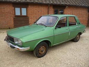 Renault 12 VERY RARE RHD UK SUPPLIED AUTO