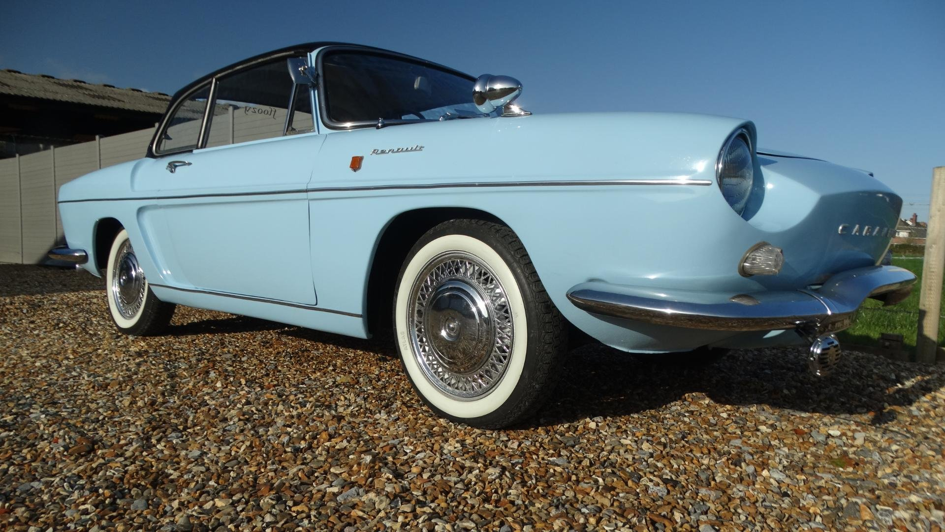 1965 Renault Caravelle covertible , tin top For Sale (picture 1 of 1)