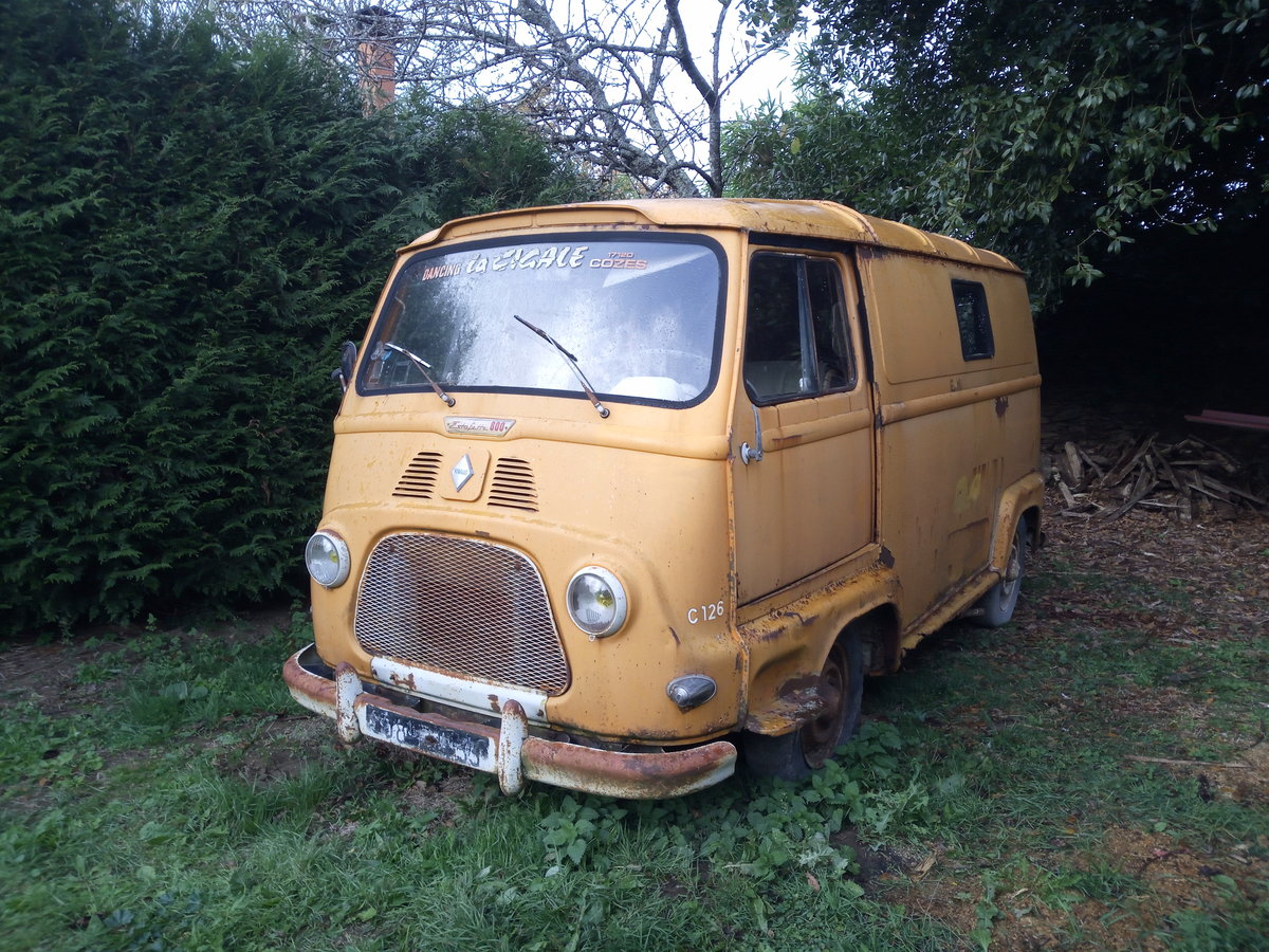 1967 Classic French Renault Estafette 800 Van  For Sale (picture 1 of 6)