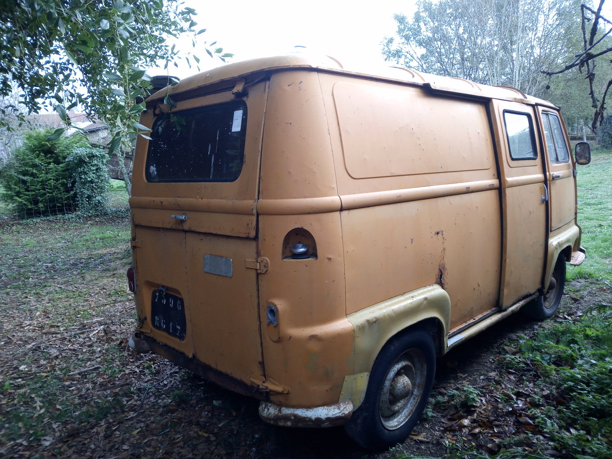 1967 Classic French Renault Estafette 800 Van  For Sale (picture 6 of 6)