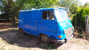 Renault Estafette 800 LHD Original French Classic
