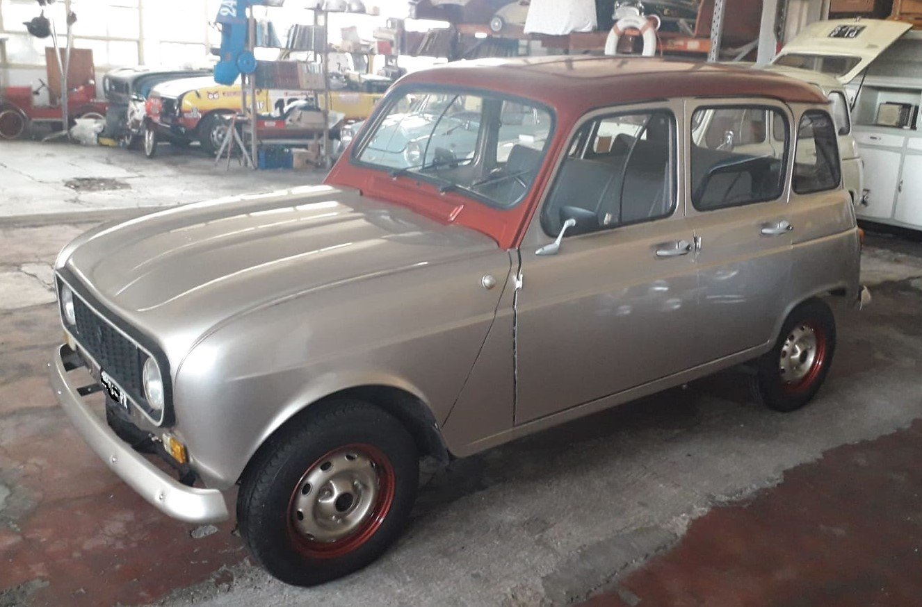 """1977 Renault R4 of famous singer """"Zucchero"""" For Sale (picture 3 of 5)"""