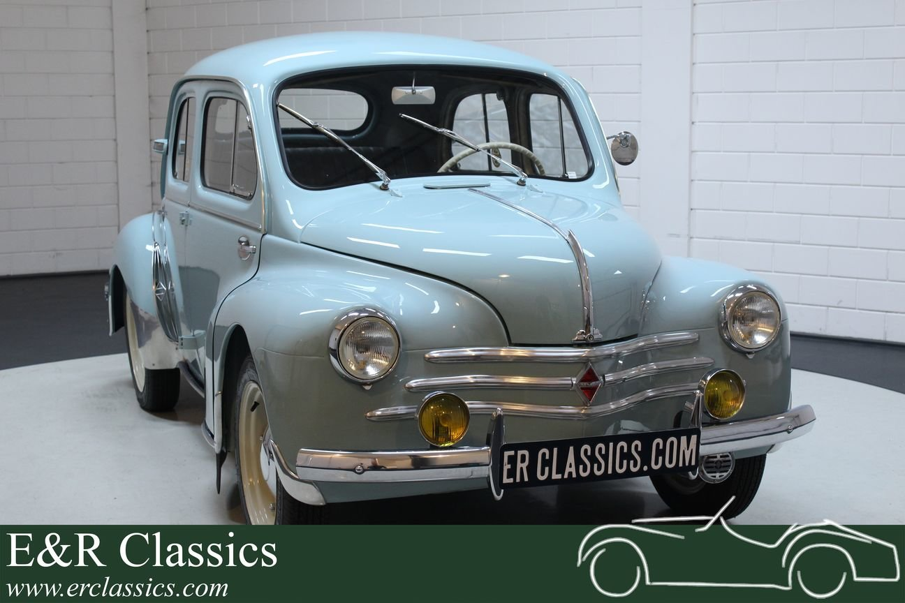 Renault 4CV 1957 Beautiful restored condition For Sale (picture 1 of 6)