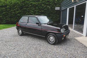 1983 Immaculately Restored Renault 5 Gordini/Alpine Turbo