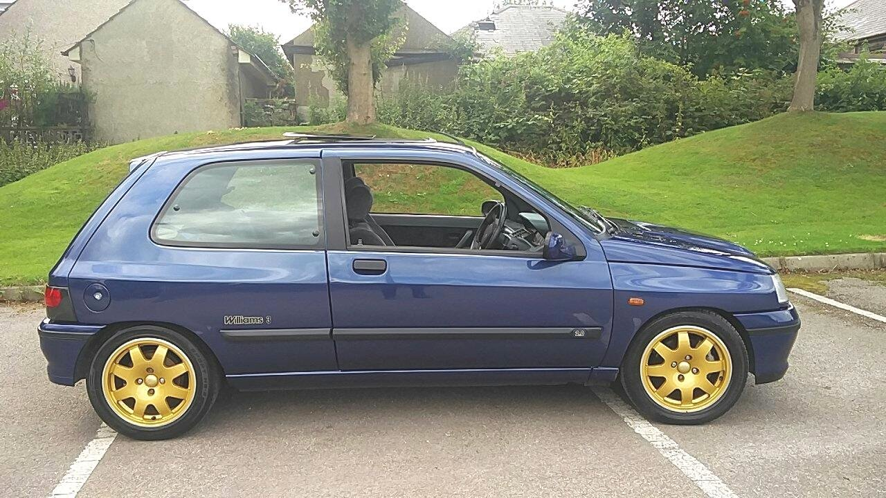 1995 RENAULT CLIO WILLIAMS 3 - 82K - HISTORY For Sale (picture 1 of 6)
