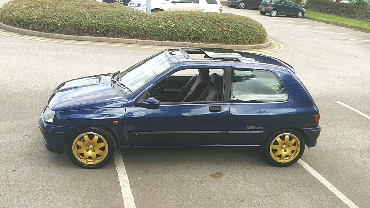 1995 RENAULT CLIO WILLIAMS 3 - 82K - HISTORY For Sale (picture 3 of 6)