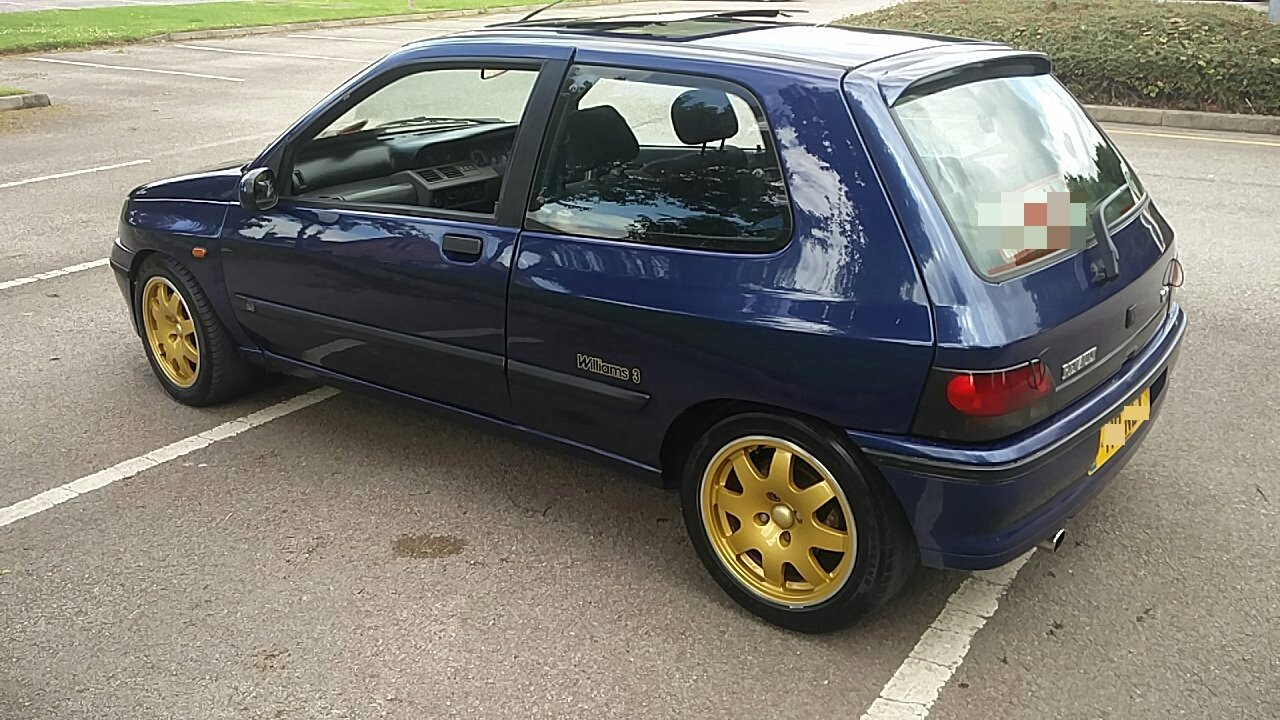 1995 RENAULT CLIO WILLIAMS 3 - 82K - HISTORY For Sale (picture 4 of 6)