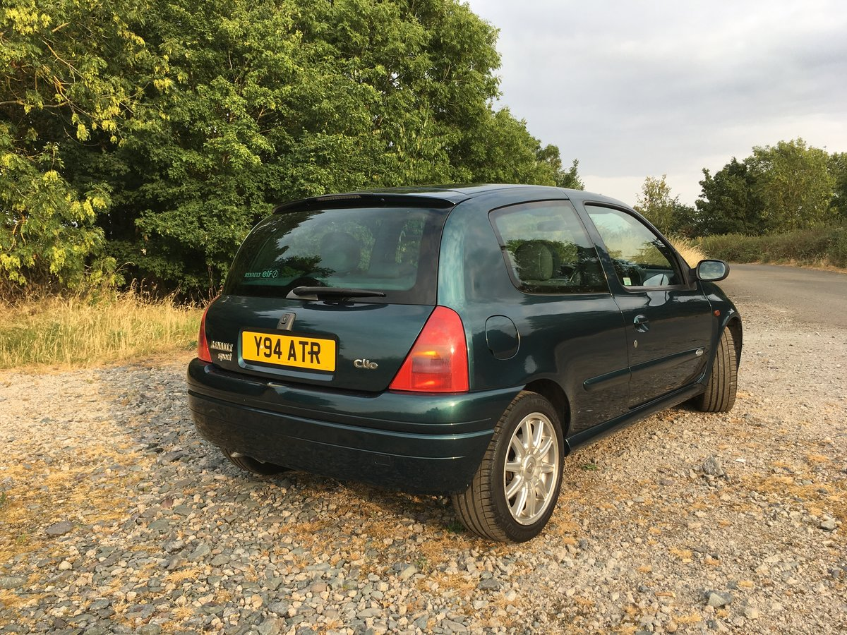 2001 Renaultsport Clio 172 Exclusive ***SOLD*** SOLD (picture 2 of 6)