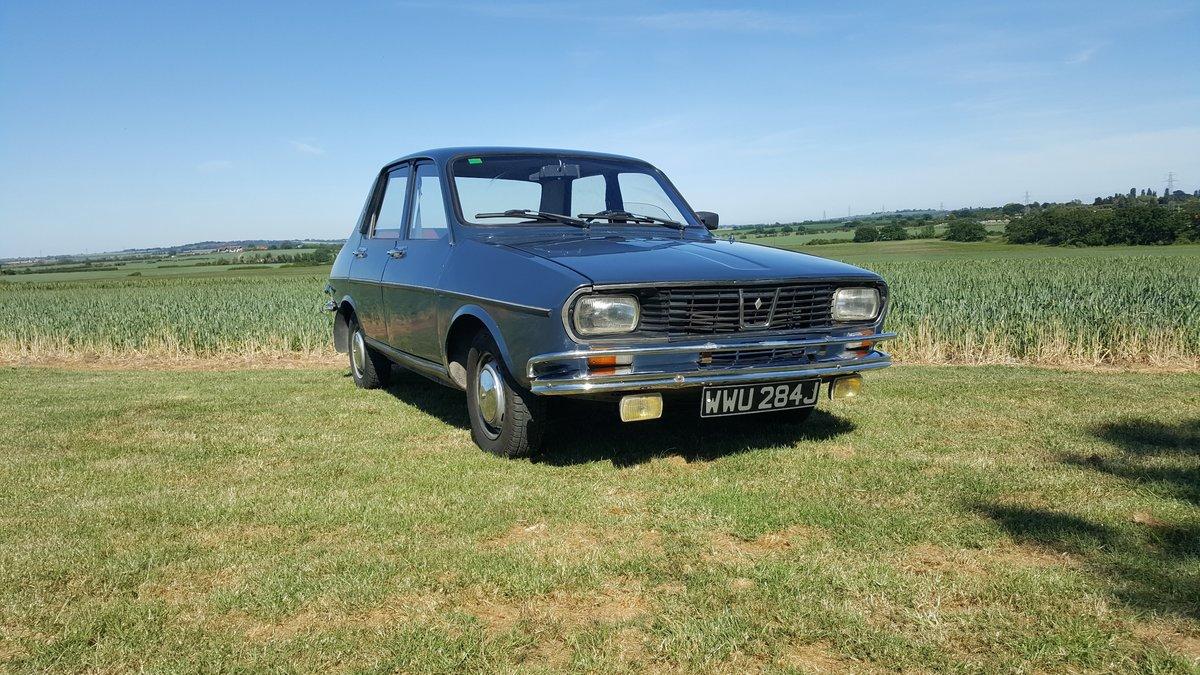 Renault 12 An excellent survivor 1970 UK registered For Sale (picture 1 of 6)