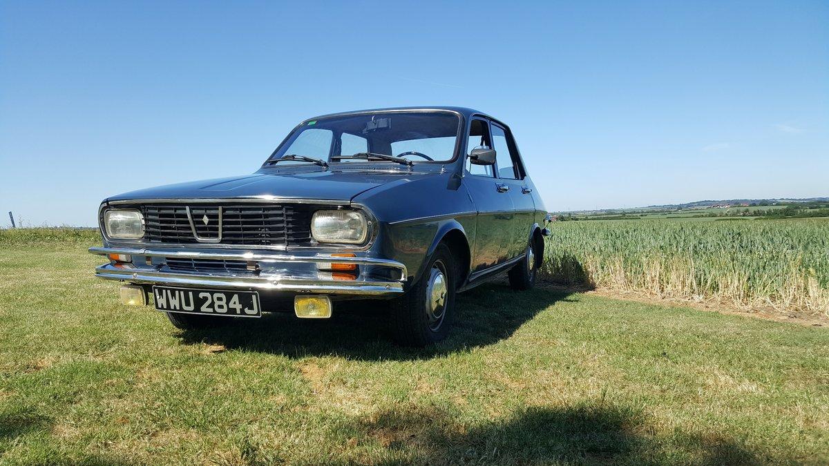 Renault 12 An excellent survivor 1970 UK registered For Sale (picture 2 of 6)