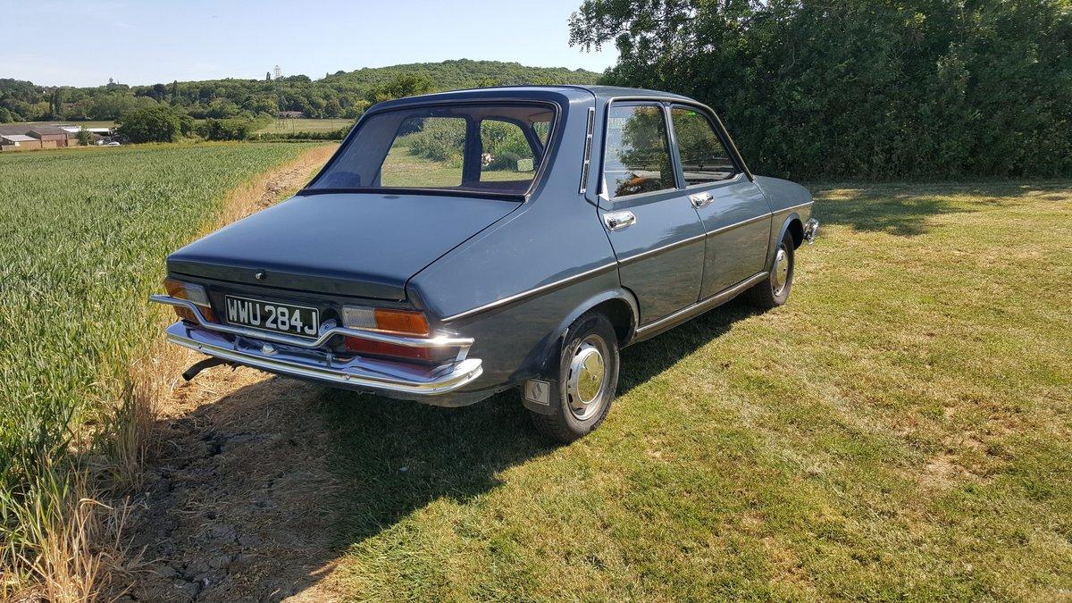 Renault 12 An excellent survivor 1970 UK registered For Sale (picture 3 of 6)