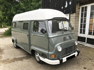 RENAULT ESTAFETTE CAMPER VAN LHD WITH SHOWER