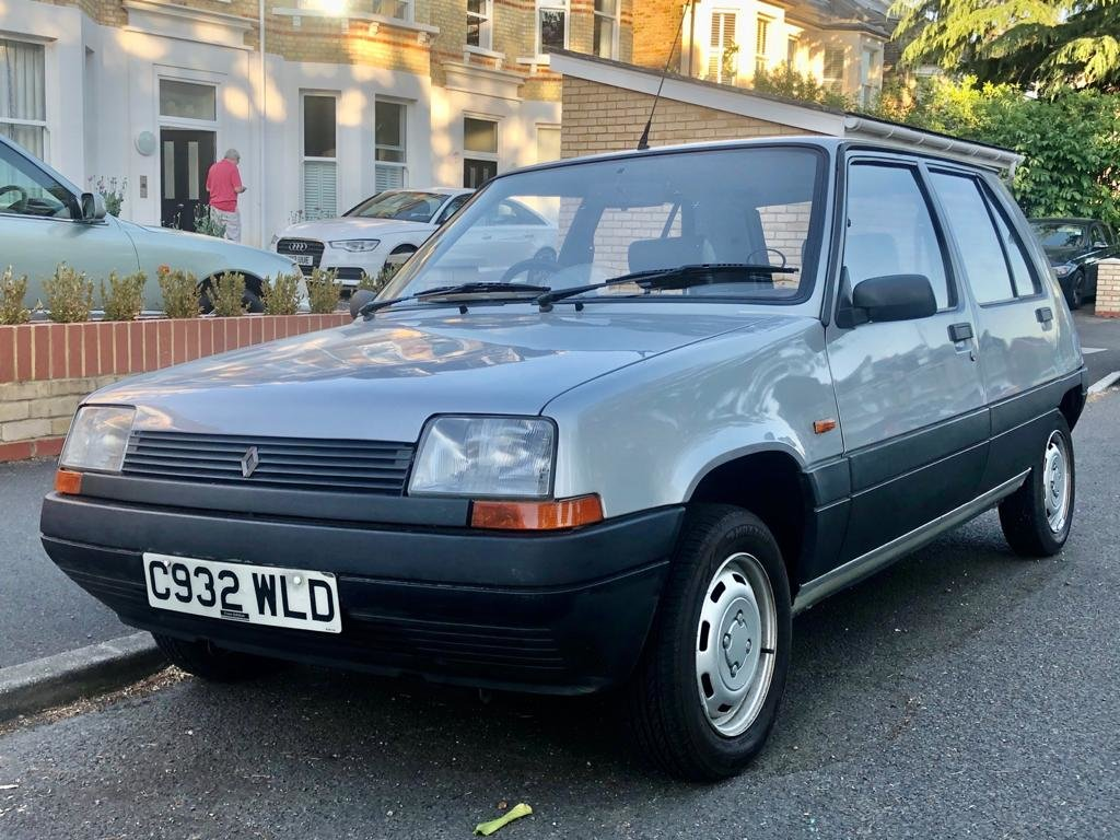 1986 Renault 5 1.1 TL 5dr Supercinq 5-speed Manual For Sale (picture 1 of 6)