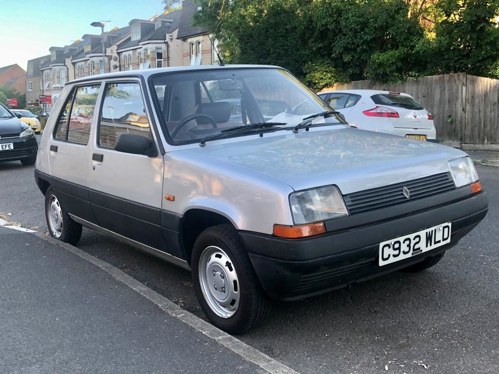 1986 Renault 5 1.1 TL 5dr Supercinq 5-speed Manual For Sale (picture 2 of 6)