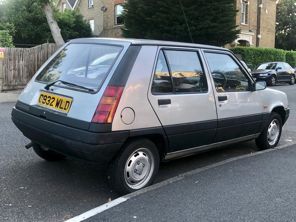 1986 Renault 5 1.1 TL 5dr Supercinq 5-speed Manual For Sale (picture 3 of 6)