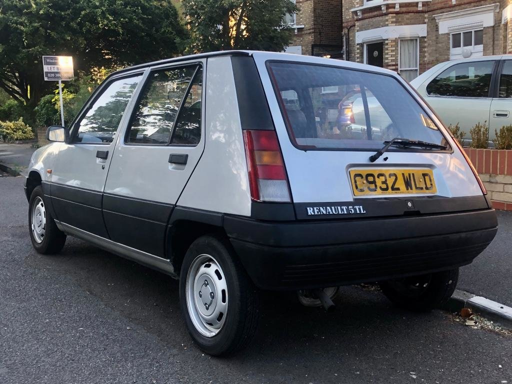 1986 Renault 5 1.1 TL 5dr Supercinq 5-speed Manual For Sale (picture 4 of 6)