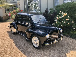 1958 Renault 4CV French Built Right Hand Drive