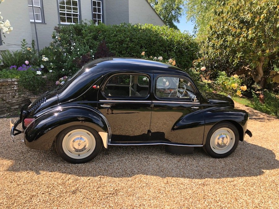 1958 Renault 4CV French Built Right Hand Drive For Sale (picture 2 of 6)