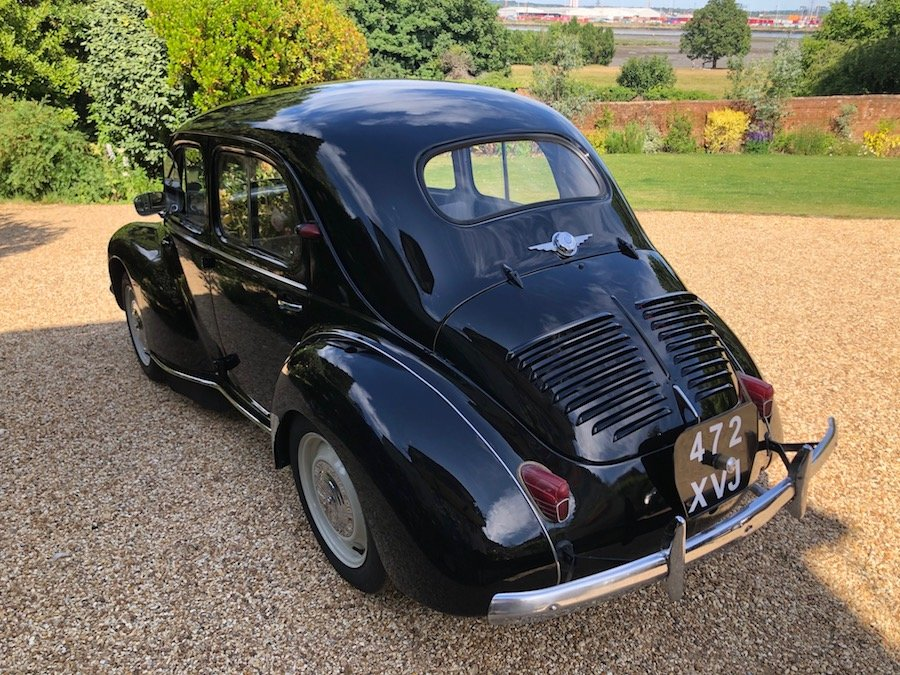 1958 Renault 4CV French Built Right Hand Drive For Sale (picture 3 of 6)