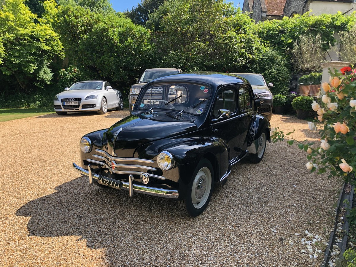 1958 Renault 4CV French Built Right Hand Drive For Sale (picture 4 of 6)