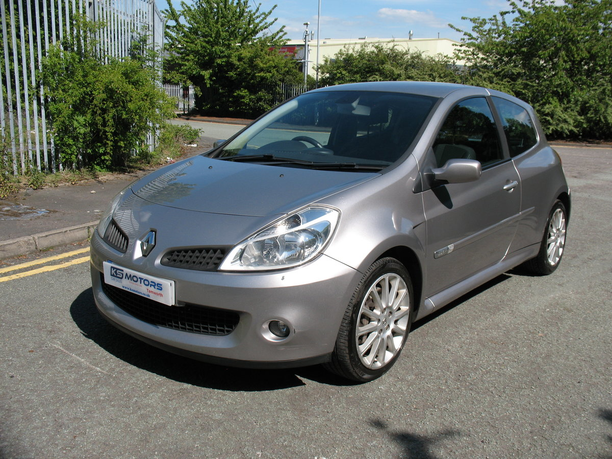 Renault Clio Renaultsport 197 2009 '09' Reg, 90k Miles For Sale (picture 1 of 6)