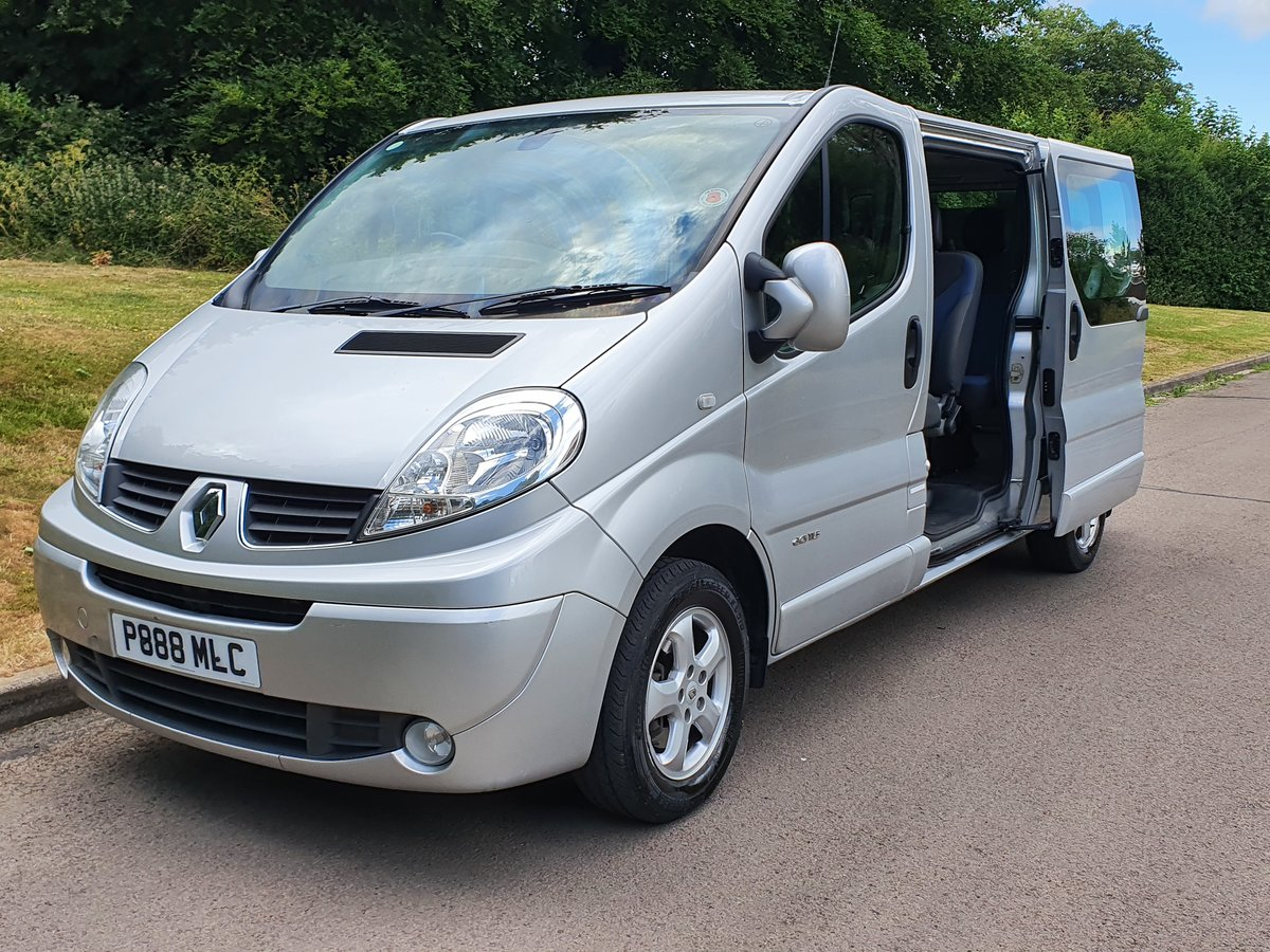 2013 Renault Trafic LL29 DCi Sport.. Top Spec&Low Miles.. 9 Seats SOLD (picture 2 of 6)