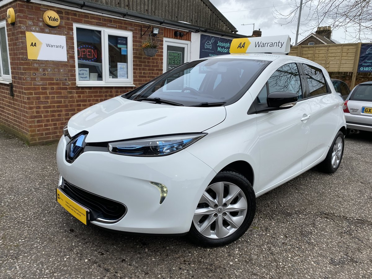 2015 Renault Zoe 22kWh Dynamique Intens Auto 5dr For Sale (picture 4 of 5)