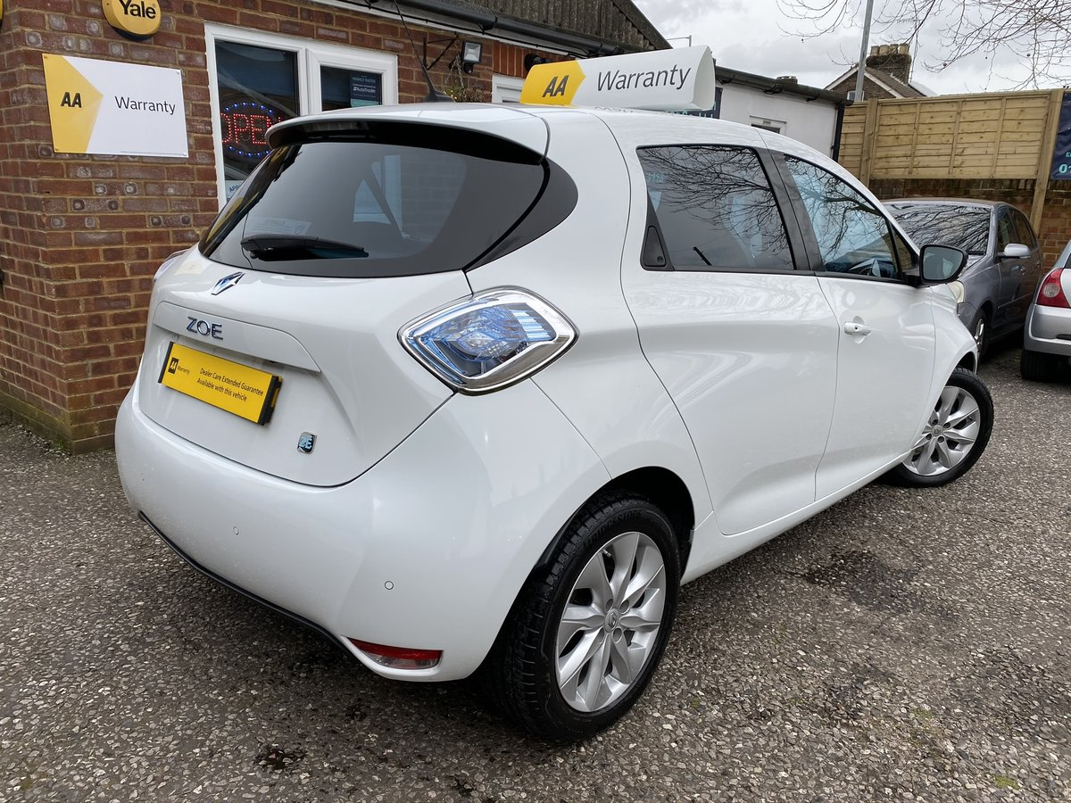 2015 Renault Zoe 22kWh Dynamique Intens Auto 5dr For Sale (picture 5 of 5)