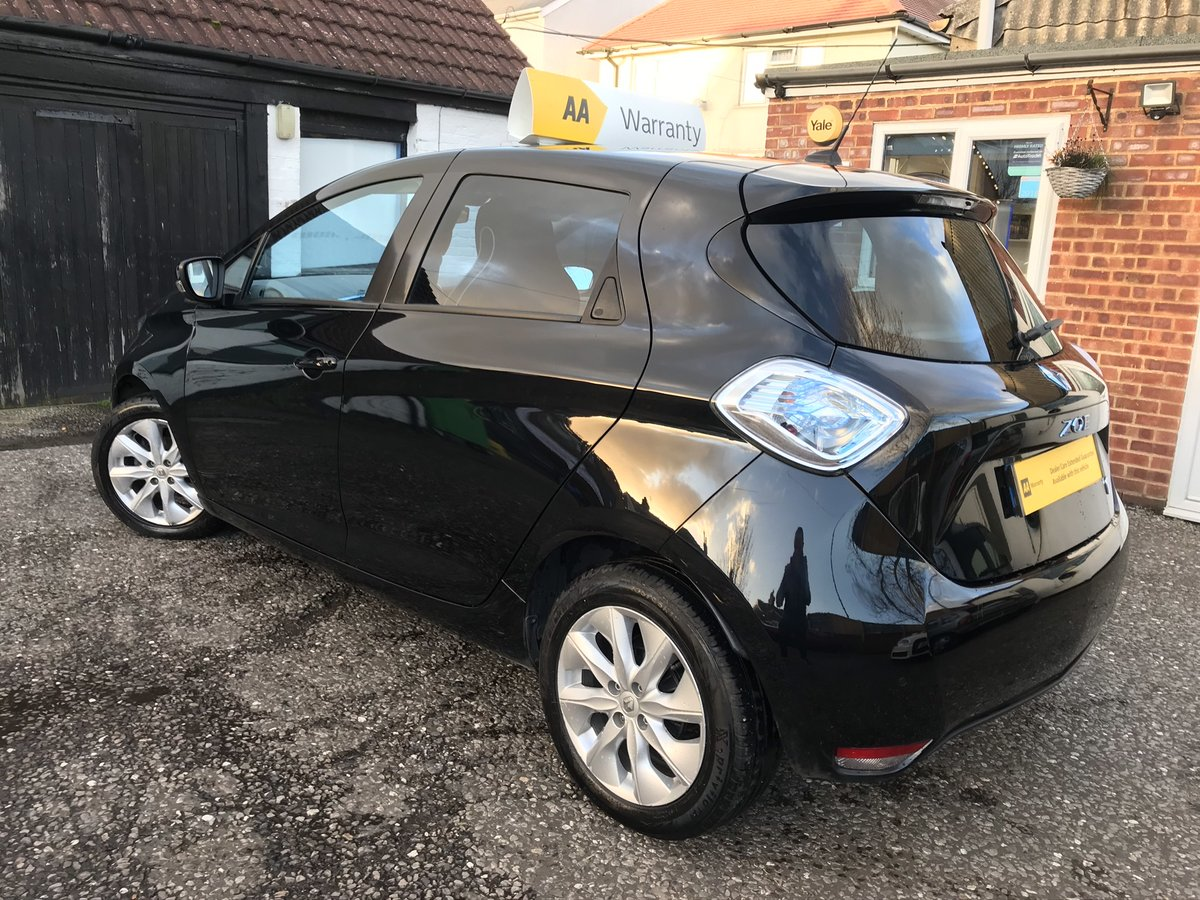 2014 Renault Zoe 22kWh Dynamique Intens Auto 5dr For Sale (picture 5 of 5)