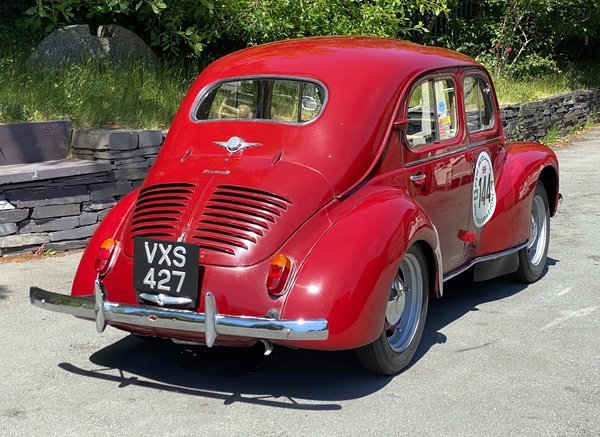 1951 Renault 4cv Grand Luxe For Sale (picture 3 of 6)