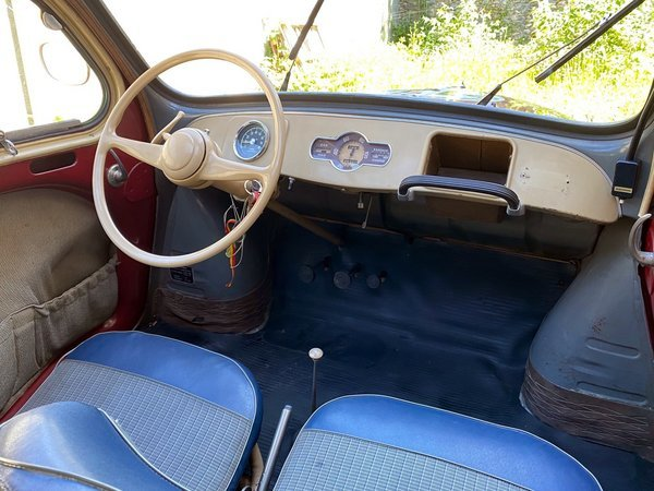 1951 Renault 4cv Grand Luxe For Sale (picture 4 of 6)