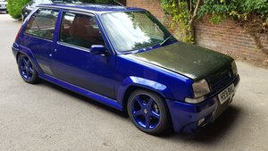 1990 Renault 5 GT Turbo - RS Blue, Real head turner