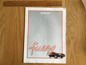 Reanault Fuego brochure